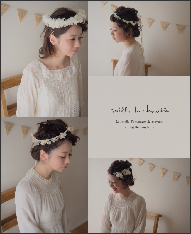 新作花冠・ヘッドドレス