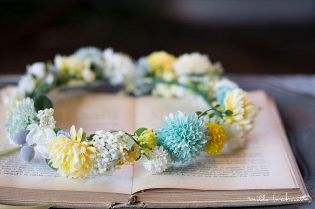 カラフルマム花冠