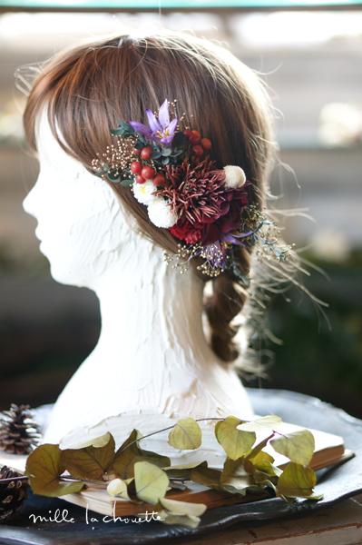 成人式和装の髪飾り
