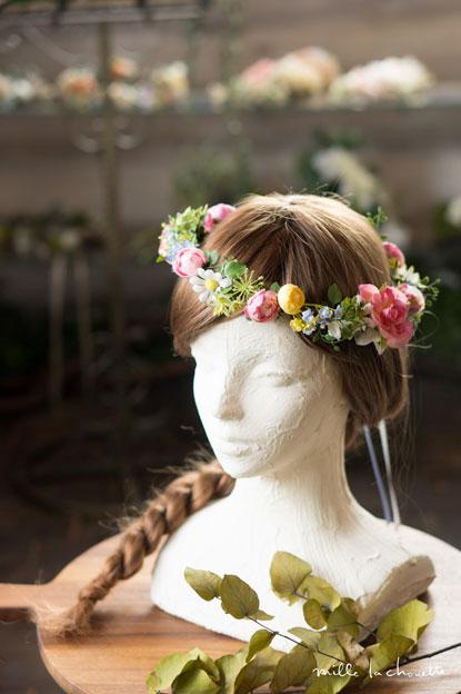 カラフルリゾートナチュラル花冠