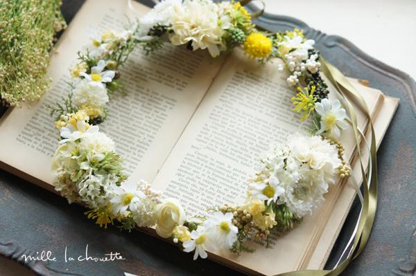 ナチュラルガーデンデイジー花冠