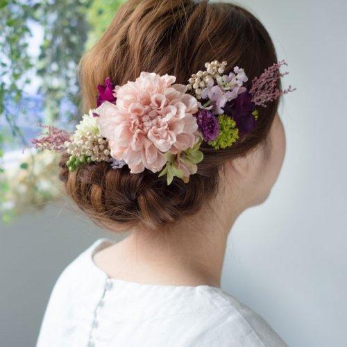 成人式の振袖用髪飾り