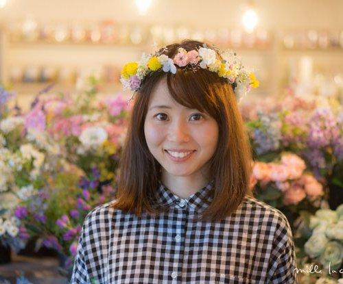 カラフル小花花冠