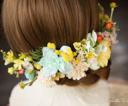 振袖用和の髪飾り
