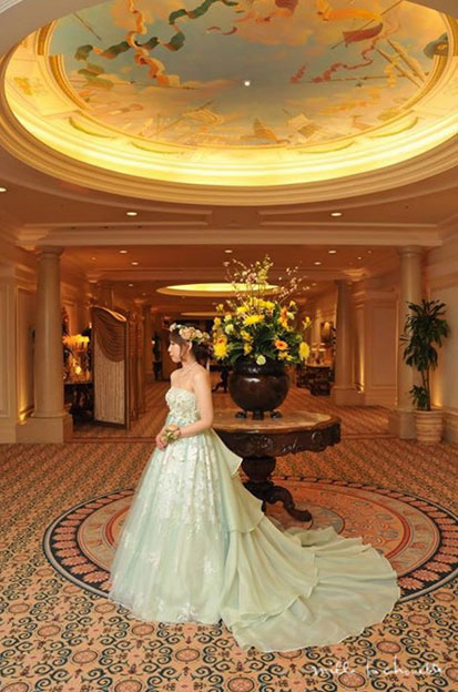 花嫁様からのお写真