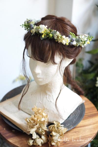 グリーンナチュラルシンプル花冠